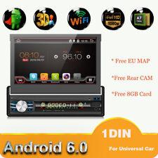 """Rückfahrkamera+ 7""""universal Autoradio Single 1DIN Android6.0.1 Mit GPS NAvi+ Map"""