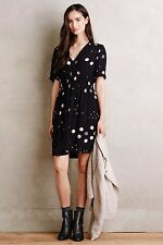 NWT Anthropologie HD in Paris Felicity Dress, Size 0,  Fit & Flare Black, $138