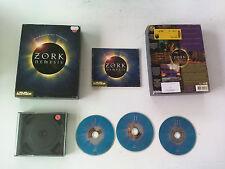 Zork Nemesis (Point & Click) 1996 PC Big Box carton FR