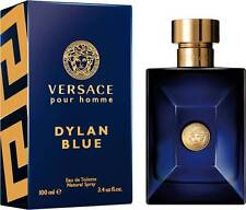 Versace Dylan blue Pour Homme for Men * 3.4 oz 100ml * EDT New in Box Sealed