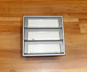 Siedle TM 511-03 T Klingeltaster 3fach Tastenmodul Titan TM511-3