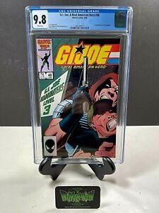 GI JOE: A REAL AMERICAN HERO #48 CGC GRADED 9.8 1ST APP SGT. SLAUGHTER 1986