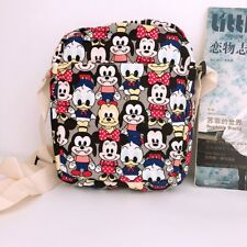 Mickey minnie pluto shoulder bag Cycling bags money phone bag canvas new
