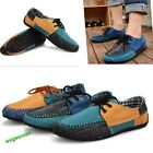 New Mens Casual Slip On Loafer Shoes Canvas Moccasins Driving Shoes 6 Sizes