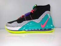 Men's Nike Air Force Max in Black/Hot Punch/Volt/New Green AR0974-005 Size 9