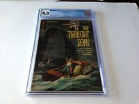 TWILIGHT ZONE 1 CGC 4.0 1ST GOLD KEY CBS TV SERIES ROD SERLING COVER PHOTO COMIC