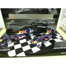 Minichamps Pm412100506 Set Red Bull 2010 2 Auto 1 43 Modellino