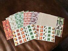 "Big Creative Memories Scrapbook Photo Mounting Paper Pack & Stickers ""Harvest"""