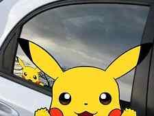 """Pokemon Pikachu Anime 7"""" Window Car Decal, Sticker, Pokemon Go"""