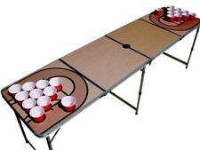 Basketball Court Beer Pong Table with holes.