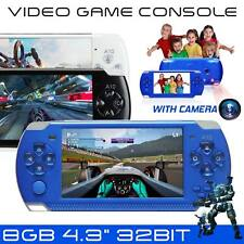 "32Bit 8 GB 4.3"" Built-In Portable video console di gioco portatile Player 10000 GIOCHI"