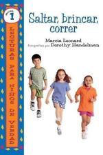 Saltar, Brincar, Correr (Lecturas Para Ninos de Verdad: Nivel 1) (Spanish Editio