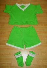 """16"""" or 20"""" TRU CPK Cabbage Patch Kids SOCCER OUTFIT SHIRT PANTS SOCKS w/ numbers"""