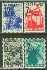 NETHERLANDS SC#B54/57   NVPH#244/47   MINT NEVER HINGED  FULL ORIGINAL GUM