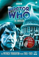 Doctor Who: The Invasion [New Dvd] Full Frame, Mono Sound, Subtitled, 2 Pack,