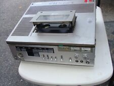 Sony Slo-323 Betamax Videocassette Recorder For Parts Or Repair