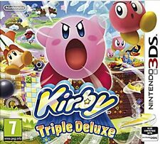 Kirby Triple Deluxe 3DS Nintendo Video Game Mint Condition Original UK Release