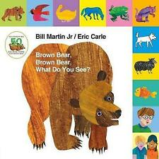 Lift-The-Tab: Brown Bear, Brown Bear, What Do You See? 50th Anniversary Edition by Bill Martin (Board book, 2016)