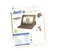 Justin Power 11,600 mAh Rechargeable Power Case Designed for iPad 1-2-3-4 New