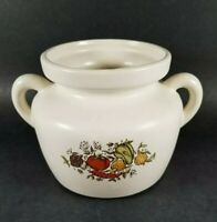 Vintage McCoy Ceramic Pottery Bean Pot Cookie Jar #341 Spice of Life or Delight