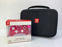 Nintendo Switch Accessory Lot - Carrying Case And Rock Candy Controller NIB
