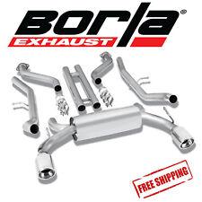 BORLA S-TYPE Cat-Back Performance Exhaust Kit For 2009-2018 Nissan 370Z 3.7L V6