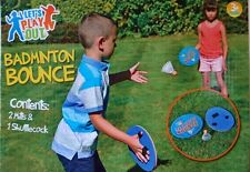 OUTDOOR BADMINTON BOUNCE GAME SET SUMMER FUN (KIDS OR ADULT)