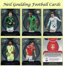 Panini PRIZM World Cup 2018 ☆ FUNDAMENTALS ☆ Football Insert Cards #1 to #25