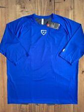 Under Armour Fitted Half Sleeve Heat Gear Baseball Men's Sz 2XL Blue 1299626 400