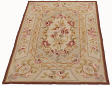 FR-2263-Tapis Aubusson Demi Point Tapisseries Classique - 92x60 Cm - Farah1970