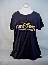2017 run Disney EVERY MILE IS MAGIC T-Shirt Black XLarge NEW