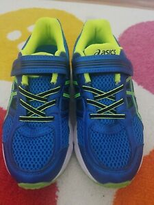 ASICS boys size 1.5 Running Shoes Casual Running  Shoes