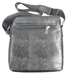 Men Jeep Shoulder Bag Leather Business Messenger Cross Body Bag Satchel Handbag