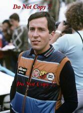 Attilio Bettega FIAT 131 ABARTH WRC RITRATTO SAN REMO RALLY 1981 fotografia 1