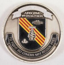 Airborne 1st Special Forces 5th Special Forces GP Challenge Coin