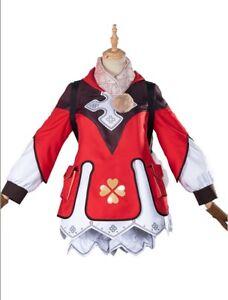 Genshin Impact Klee Full Set Uniform Halloween Cosplay Costume