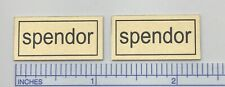 Spendor Speaker Custom Metal Badges Logo