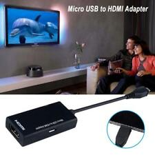 Micro USB To HDMI 1080p Wire Cable TV AV Adapter For Mobile Phones Tablets HDTV
