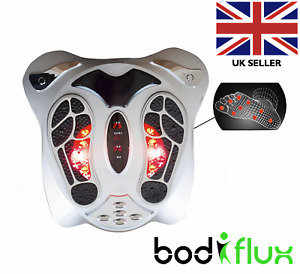 EMS Tens Circulation Foot Massager Booster Machine Blood Leg Remote Therapy UK