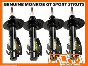 MONROE GT SPORT/GAS F&R LOWERED (SHORT) STRUTS/SHOCKS FOR VE V6 COMMODORE UTE