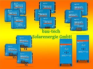 VICTRON Laderegler BlueSolar MPPT 10A - 80A für 12V, 24V und 48V Solaranlagen