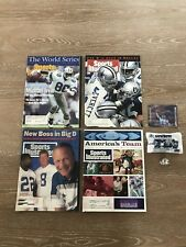 Sports Illustrated Dallas Cowboys NFL Magazines Set Of Four