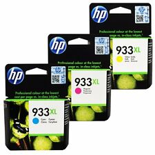 HP Genuine 933XL (C,M,Y) Set of 3 Ink Cartridges in Retail Box