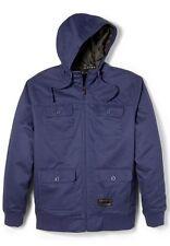 Mens Oakley Get It Full Zip Jacket Hoodie  Midnight Blue Size L large nwt new