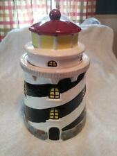 Lighthouse Ceramic Cookie Jar 12 Inches Tall