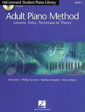 Hal Leonard Student Piano Library Adult Piano Method Sheet Music Book NEW