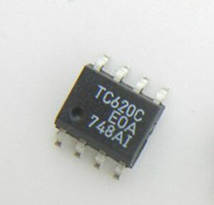 5PCS TC620CEOA TC620C 5V, DUAL TRIP POINT TEMPERATURE SENSORS SOP8