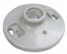 (20 pc) Keyless Porcelain Lampholder Lamp Holder Light Bulb Fixture NEW!