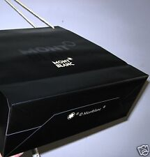 Beautiful Large Black great quality BRANDED paper bag with strings