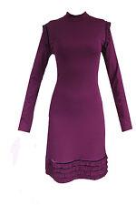 Damenkleid Damen Kleid Cocktailkleid Langarm Minikleid Abendkleid S M
